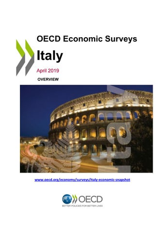OECD Economic Survey: Italy 2019 (overview) by OECD - issuu