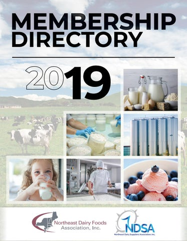 Northeast Dairy Membership Directory 2019 by