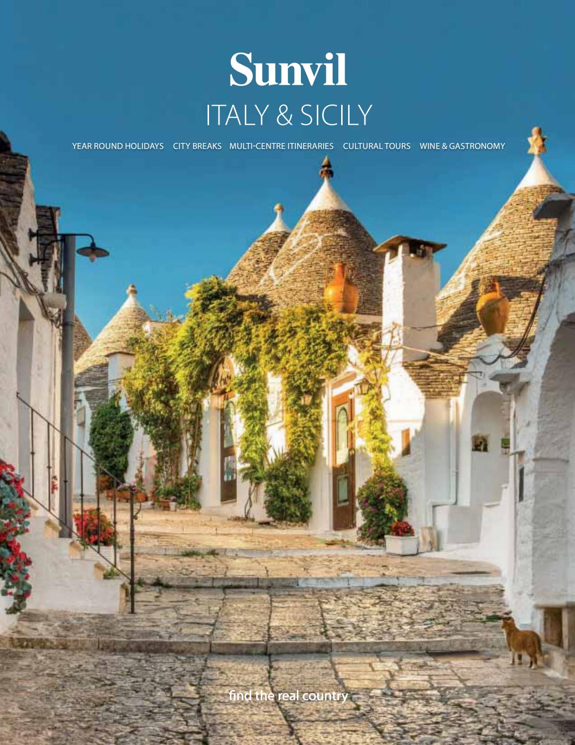 Sunvil Italy Sicily By Travel Designers Issuu