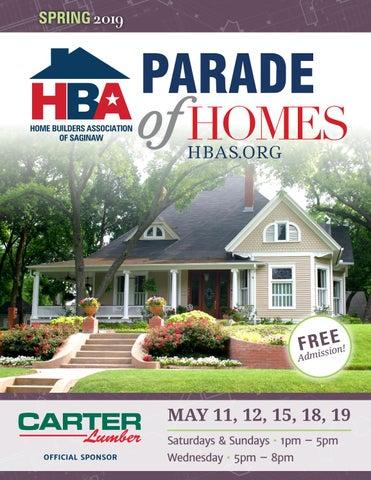 2019 HBA Saginaw Spring Parade of Homes by hbasaginaw - issuu