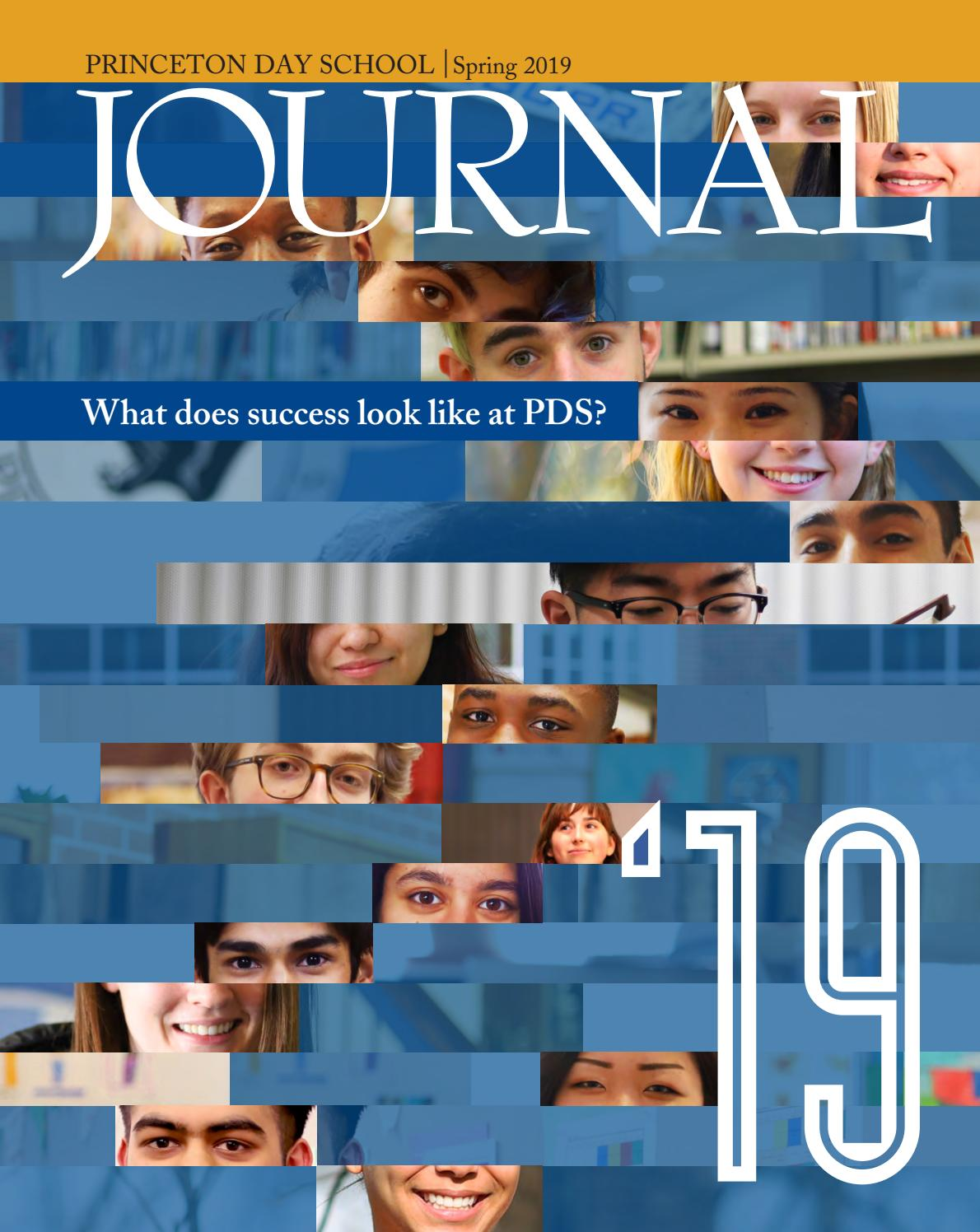 e64d5afef Princeton Day School Spring 2019 Journal by Princeton Day School - issuu