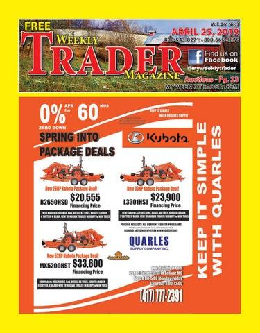 Weekly Trader April 25, 2019 by Weekly Trader - issuu