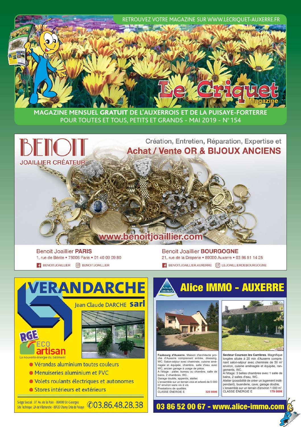 Le Issuu 2019 N°154Mai By Magazine Proxilog Criquet USqVzpM