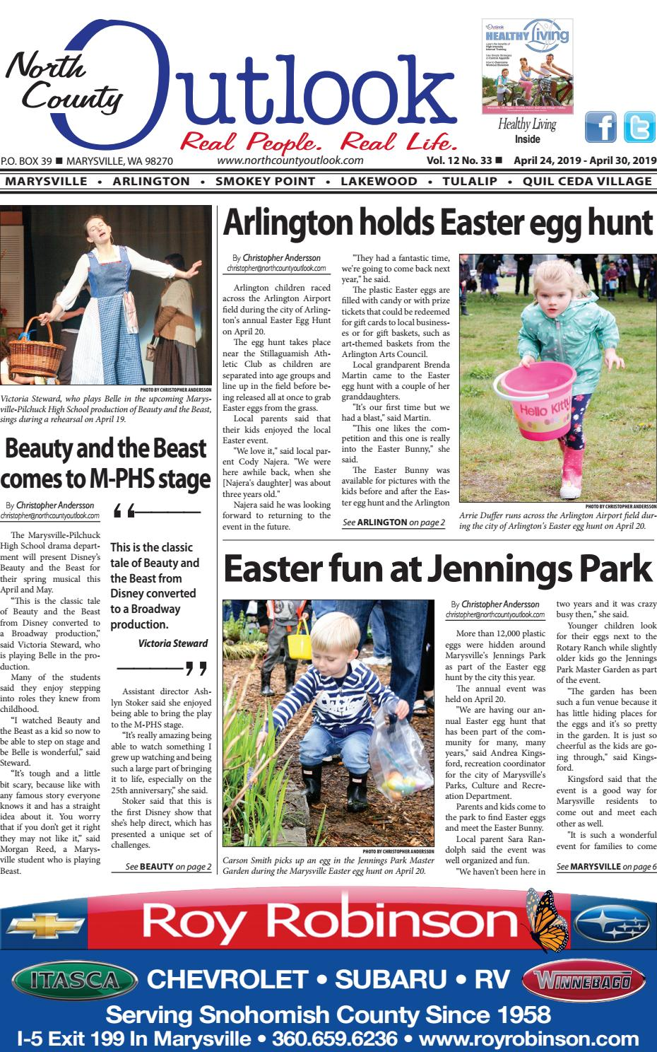 April 24, 2019 North County Outlook by The North County