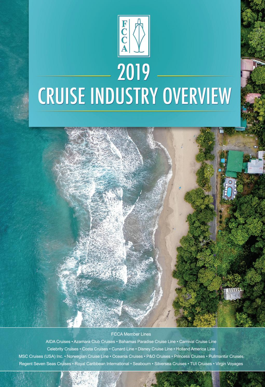2019 FCCA Cruise Industry Overview by Florida-Caribbean