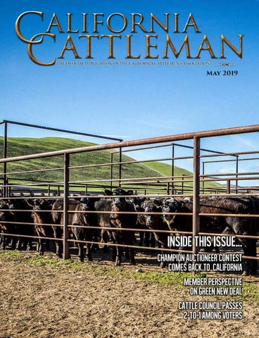 on sale f0a7a 0205d May 2019 California Cattleman