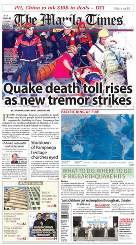 THE MANILA TIMES | APRIL 24, 2019 by The Manila Times - issuu