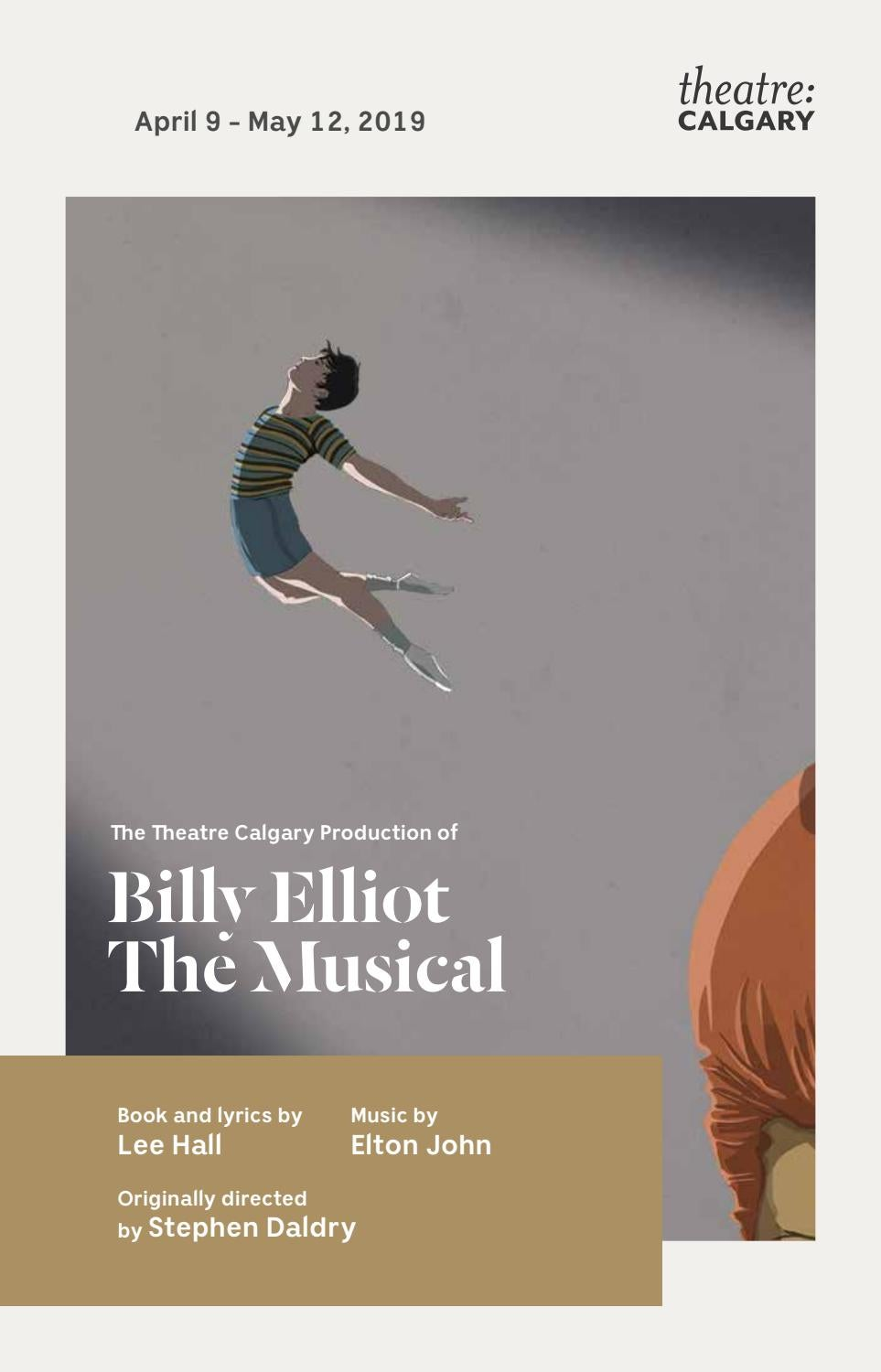 2019 Billy Elliot The Musical - House Programme by Theatre