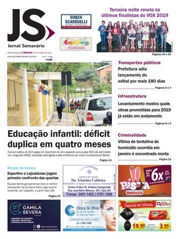 62151413e Jornal Semanário – 20 de abril de 2019 – ano 52 – nº 3533 by Jornal ...