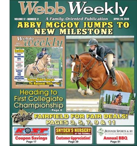 cef3ab6f283 Webb Weekly April 24, 2019 by Webb Weekly - issuu