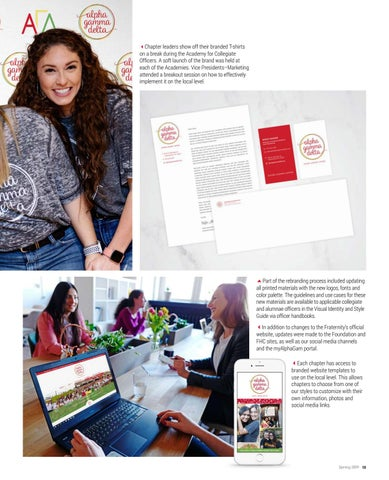 Page 15 of New Brand: Alpha Gam Gets a Makeover