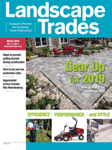 March 2019 Landscape Trades