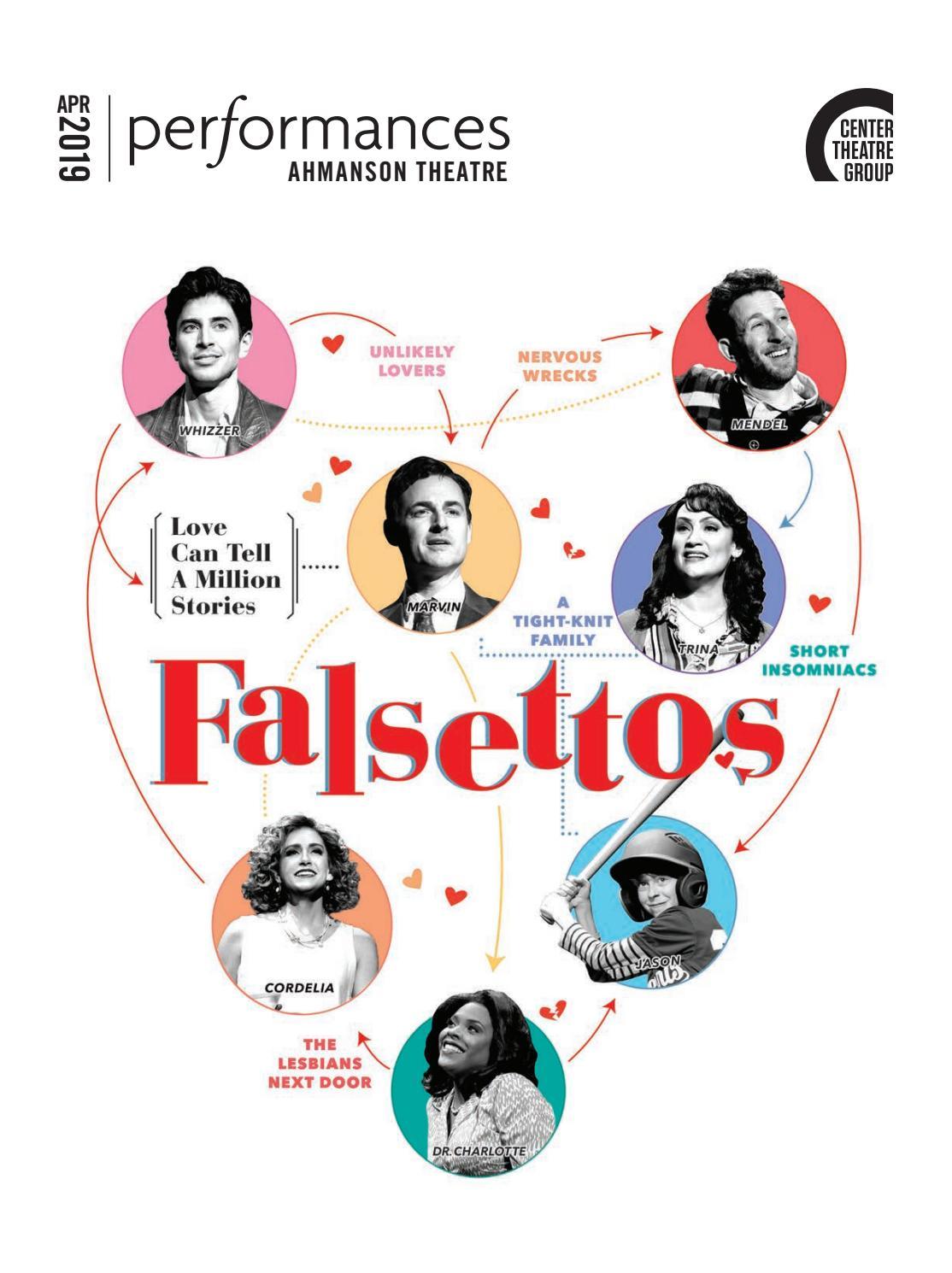 Falsettos at Center Theatre Group, April 2019 by Center