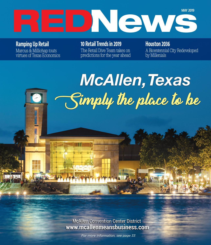 Tremendous Rednews May 2019 Mcallen By Rednews Issuu Interior Design Ideas Gentotthenellocom