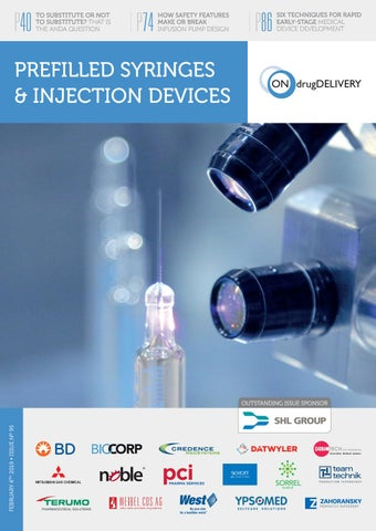 Prefilled Syringes - ONdrugDelivery - Issue 95 - Feb 2019 by