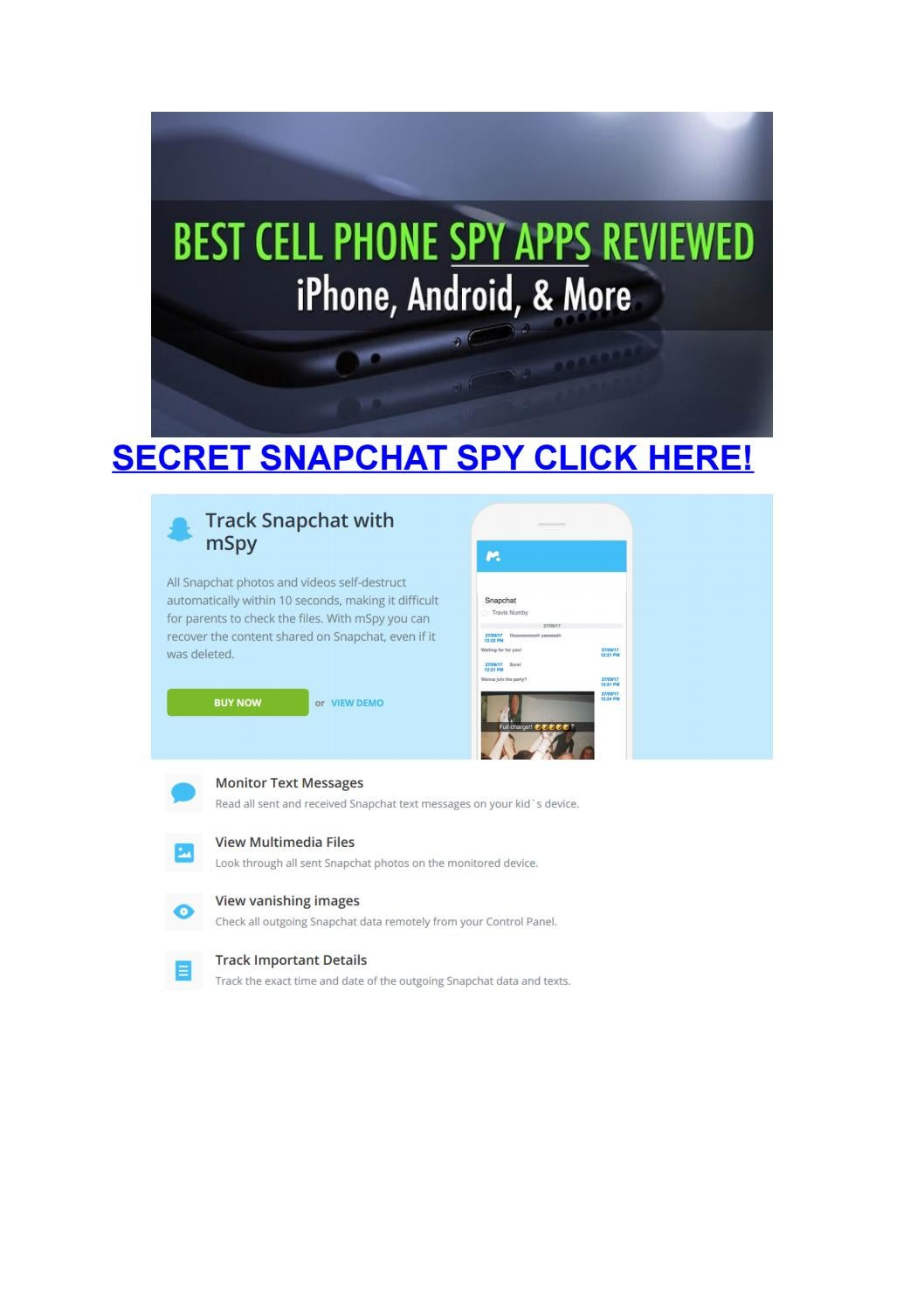 Secret Snapchat Spy by faabler - issuu