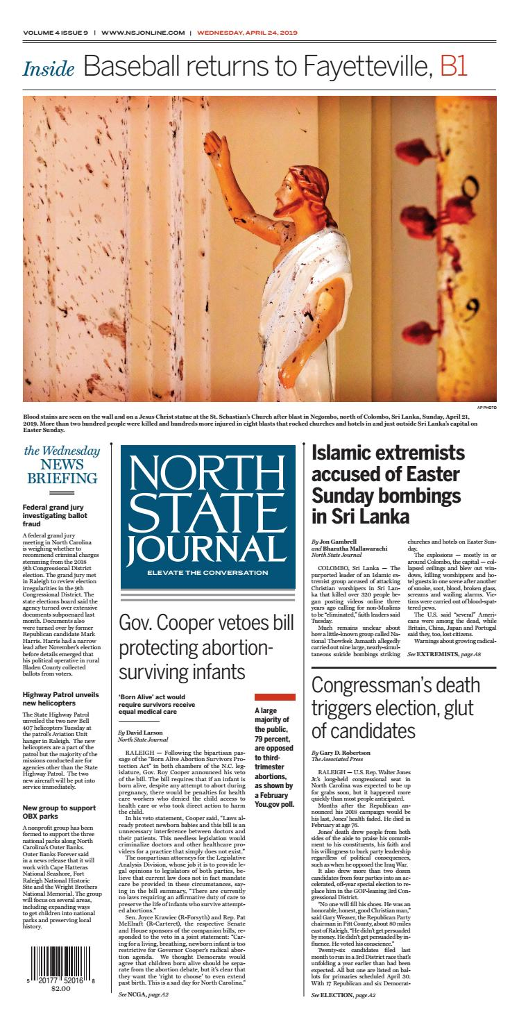 North State Journal Vol  4, Issue 9 by North State Journal