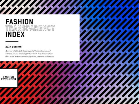 f6cfeec1a65c Fashion Transparency Index 2019 by Fashion Revolution - issuu