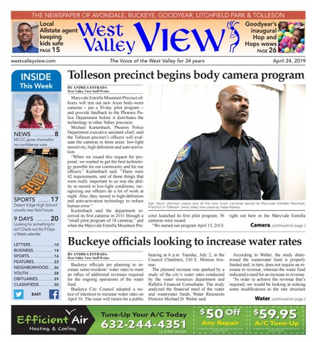 West Valley View: East 04-24-2019 by Times Media Group - issuu