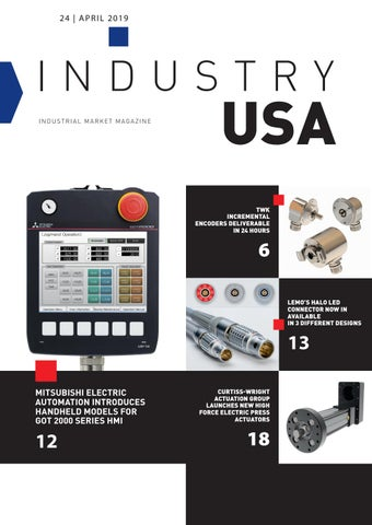 Industry USA | 24 - April 2019 by Induportals Media Publishing - issuu