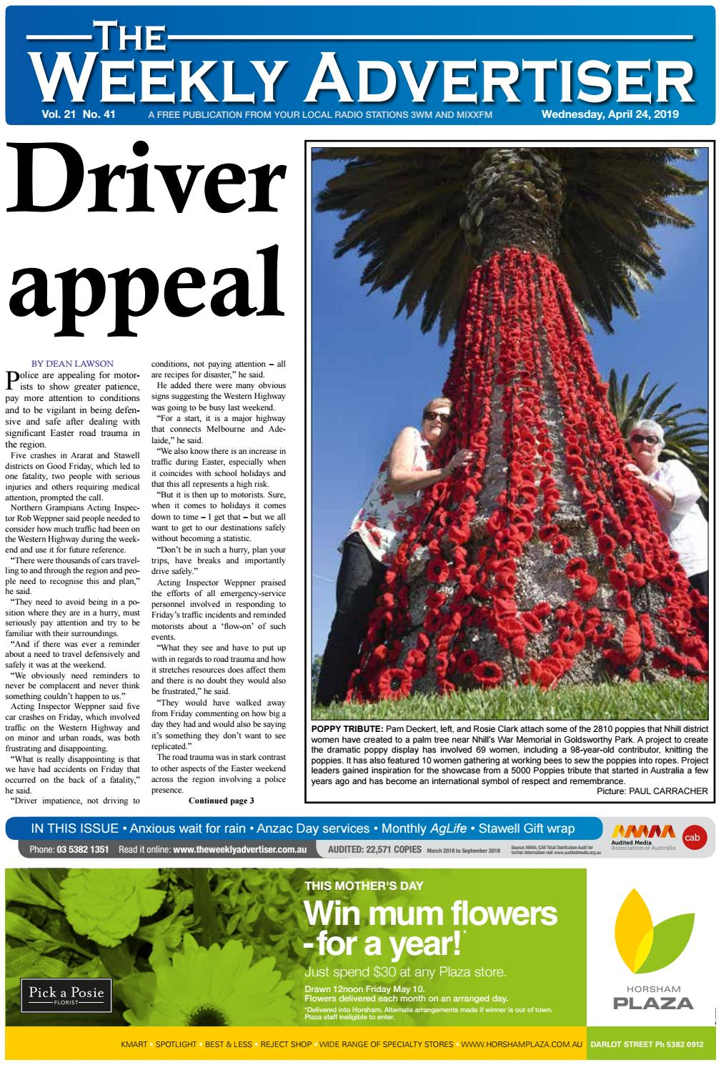 e5be016605339 The Weekly Advertiser - Wednesday
