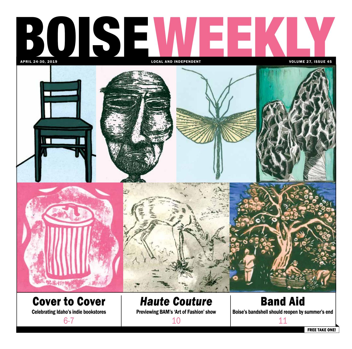 Boise Weekly Vol  27 Issue 45 by Boise Weekly - issuu