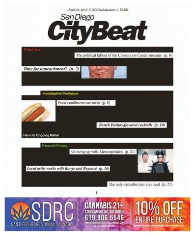 4f08558ffbcbc7 San Diego CityBeat • Apr 24, 2019 by San Diego CityBeat - issuu