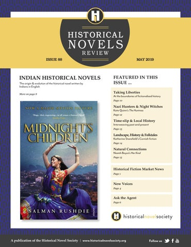 Historical Novels Review | Issue 88 (May 2019)