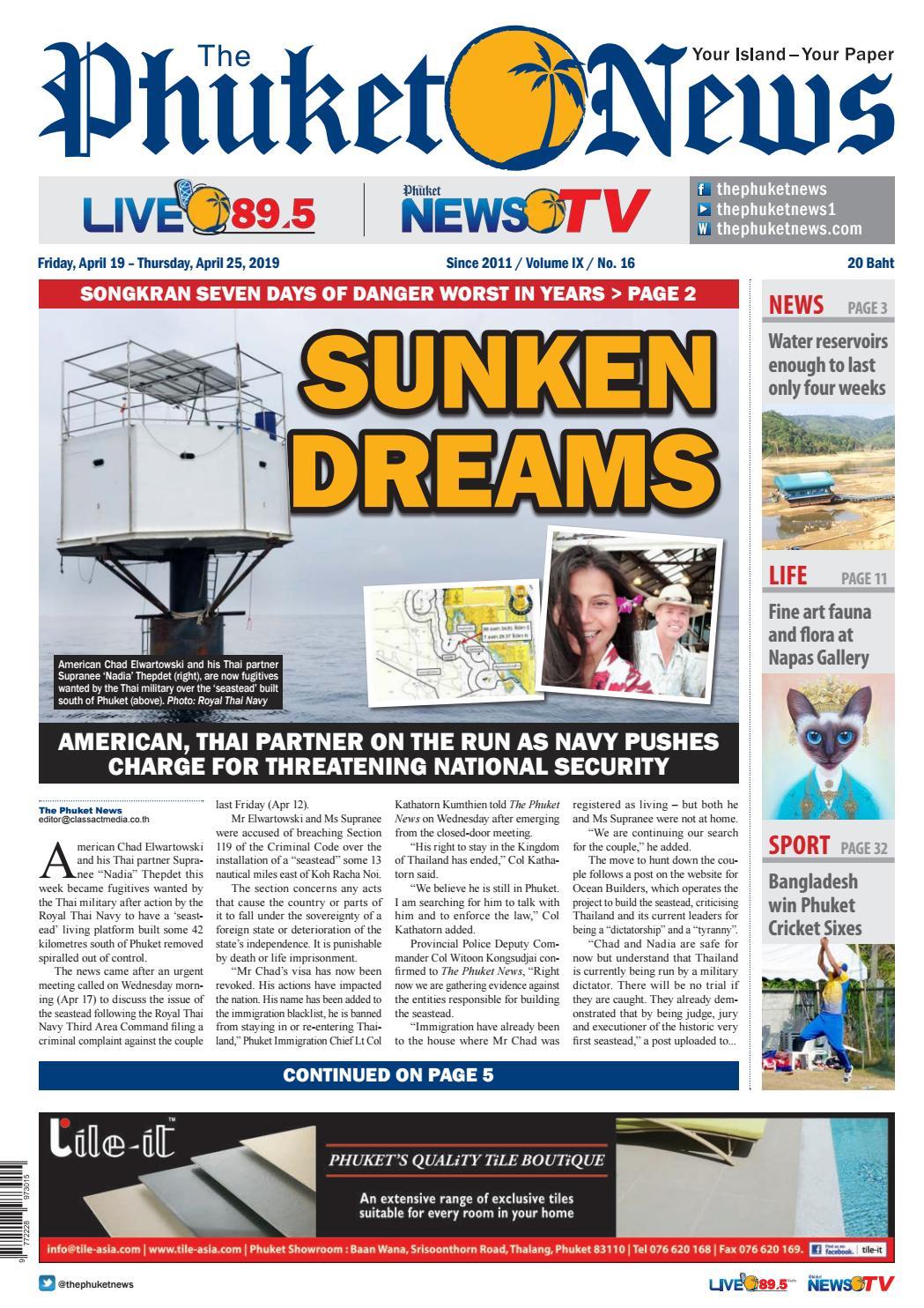 The Phuket News 19 April 2019 by The Phuket News - issuu