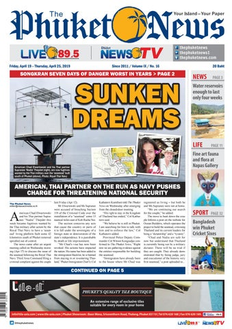 The Phuket News 19 April 2019 by The Phuket News - issuu