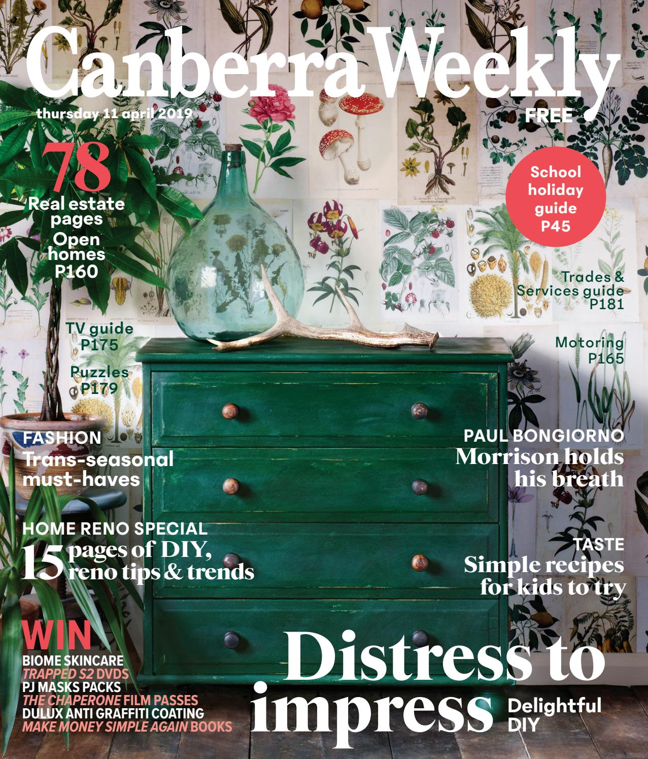 75f24ed5342a 11 April 2019 by Canberra Weekly Magazine - issuu