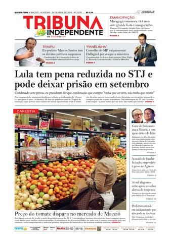 121795cb8 Edição número 3378 - 24 de abril de 2019 by Tribuna Hoje - issuu