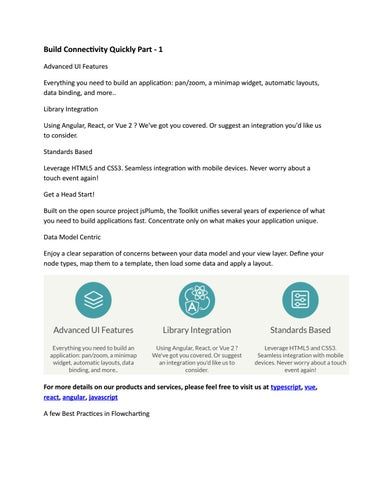 Build Connectivity Quickly Part - 1 by jsplumbtoolkit - issuu