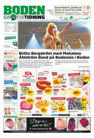 e2b7fd3a80e Boden Gratistidning vecka 17, 2019 by Svenska Civildatalogerna AB ...