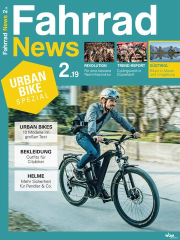111502046a9d7 Fahrrad News 2.19 by WOM Medien - issuu