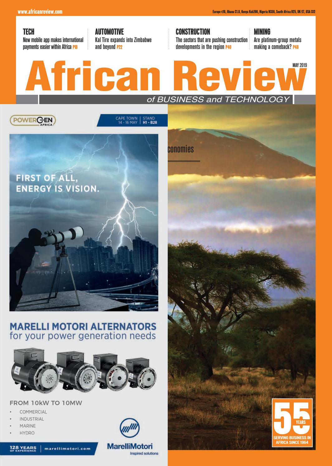 African Review May 2019 by Alain Charles Publishing - issuu