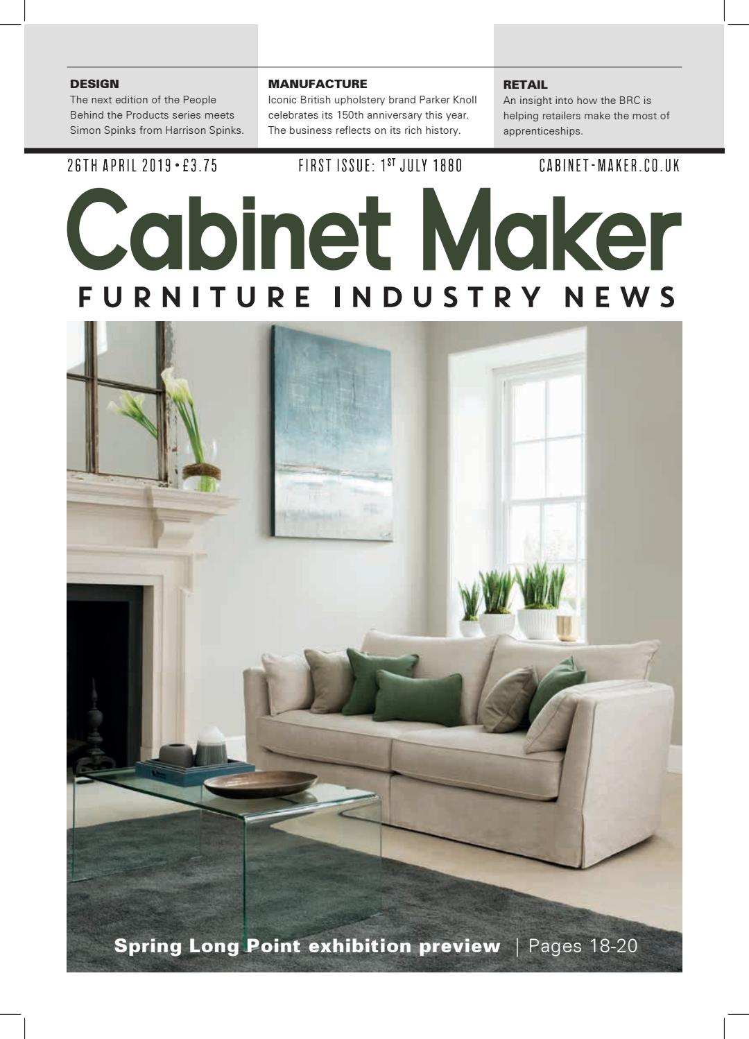 Cabinet Maker 26th April 2019