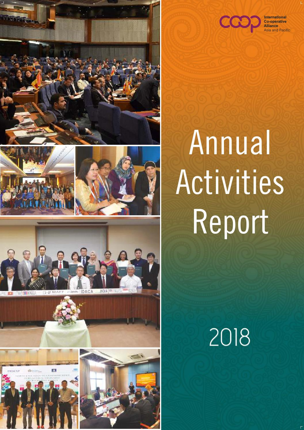ICA-AP Annual Activities Report 2018 by ICA-Asia and Pacific