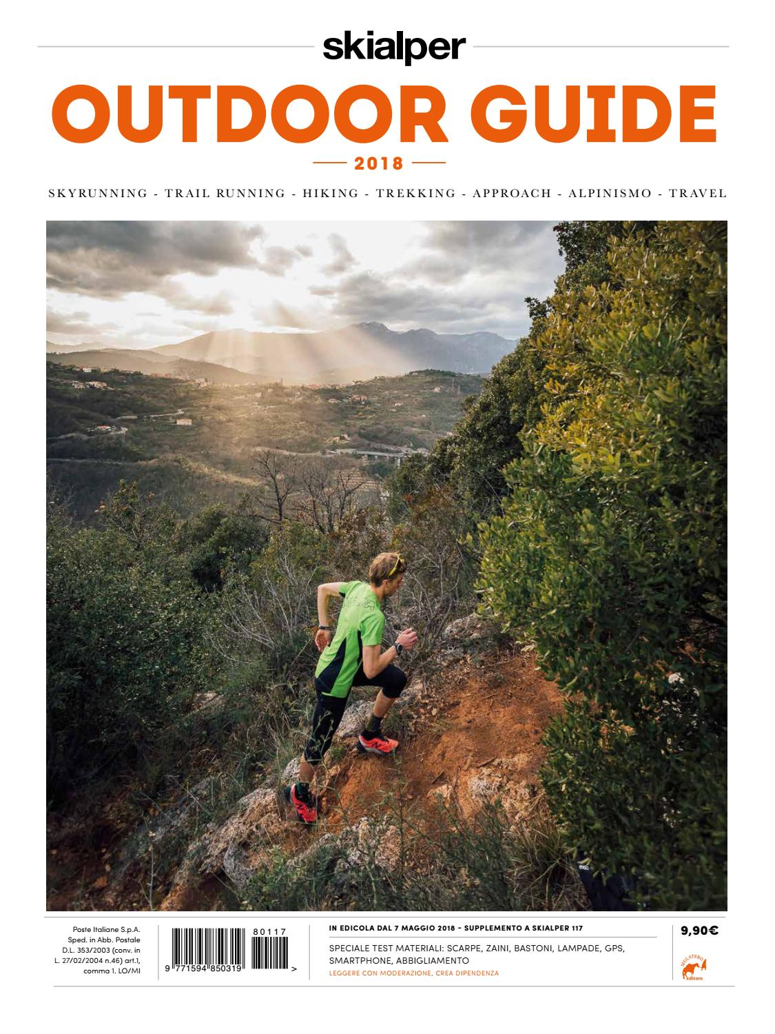 d4e4df828a Outdoor Guide 2018 by Mulatero Editore - issuu