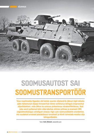 Page 26 of Soomusautost sai soomustransportöör