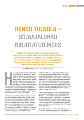 Page 43 of Hengo Tulnola - sõjaajalukku kirjutatud mees