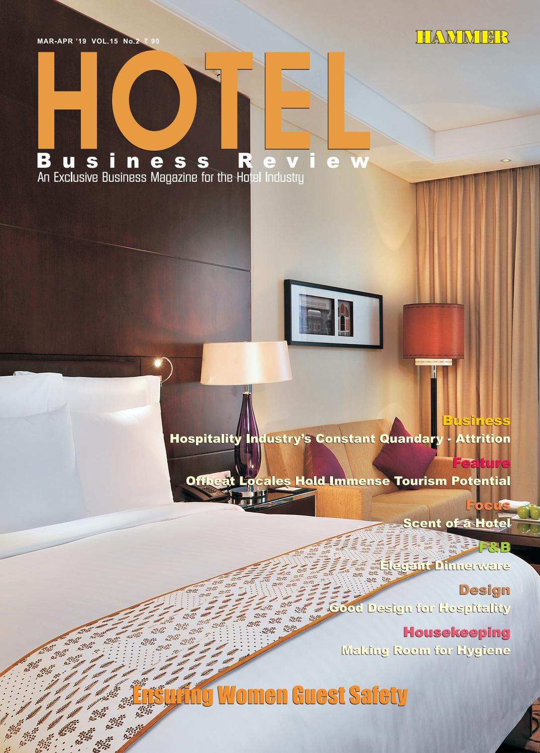 Hotel Business Review (Mar-Apr 2019) by Hammer Publishers