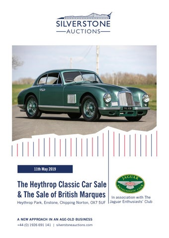 7725928e6a5 Silverstone Auctions The Heythrop Classic Car Sale & The Sale of ...