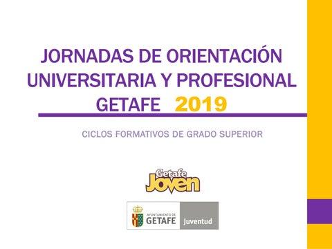 Jornadas De Orientación Universitaria Y Profesional Getafe