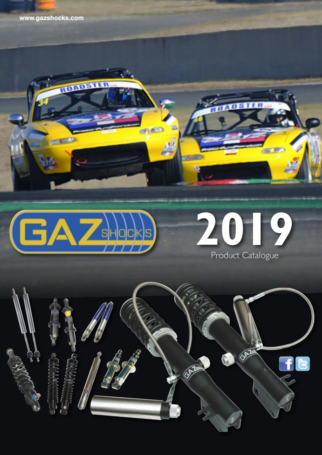 GAZ For Ford Fiesta 1.4S 1.6S 1994-96 Rear Single GP Coilover Unit Shock Absor