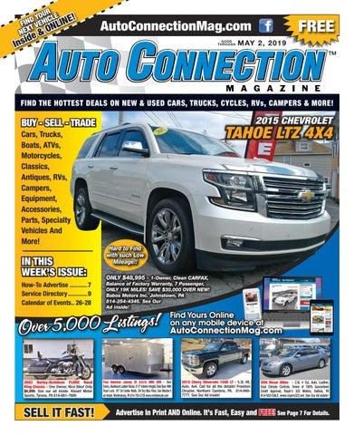 05-02-19 Auto Connection Magazine by Auto Locator and Auto