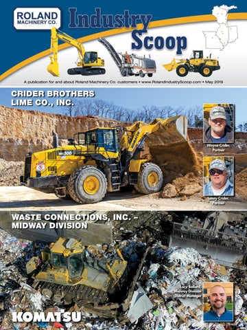 Roland Industry Scoop May 2019 by Construction Publications