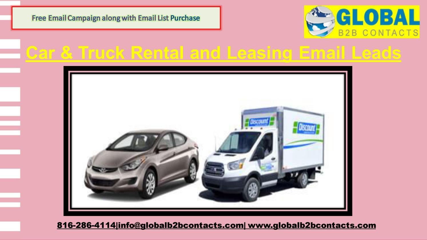 Car Truck Rental And Leasing Email Leads By Dylangloria99 Issuu
