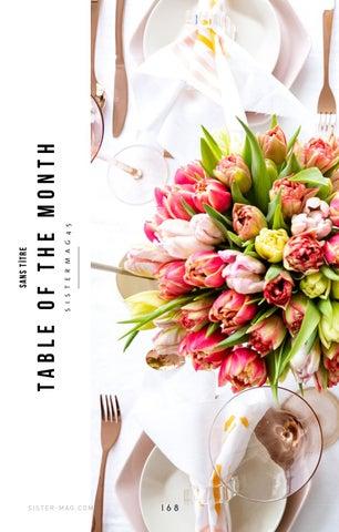 Page 168 of Tisch des Monats - Ein Fest an Farben & Formen