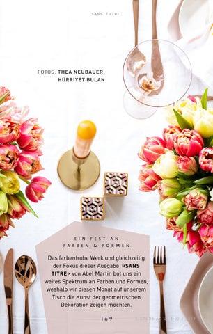 Page 169 of Tisch des Monats - Ein Fest an Farben & Formen